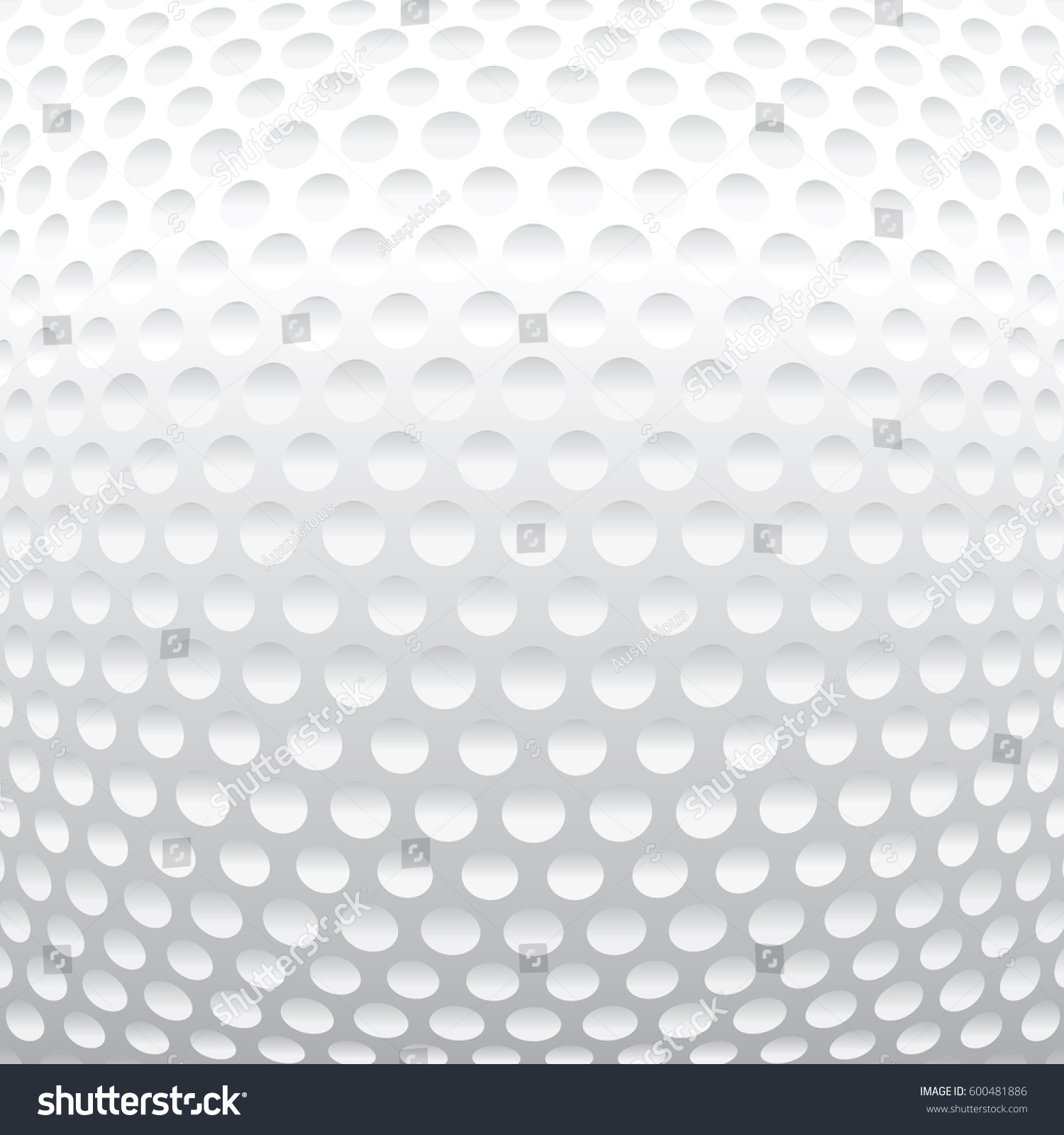vector golf ball texture background stock vector 600481886