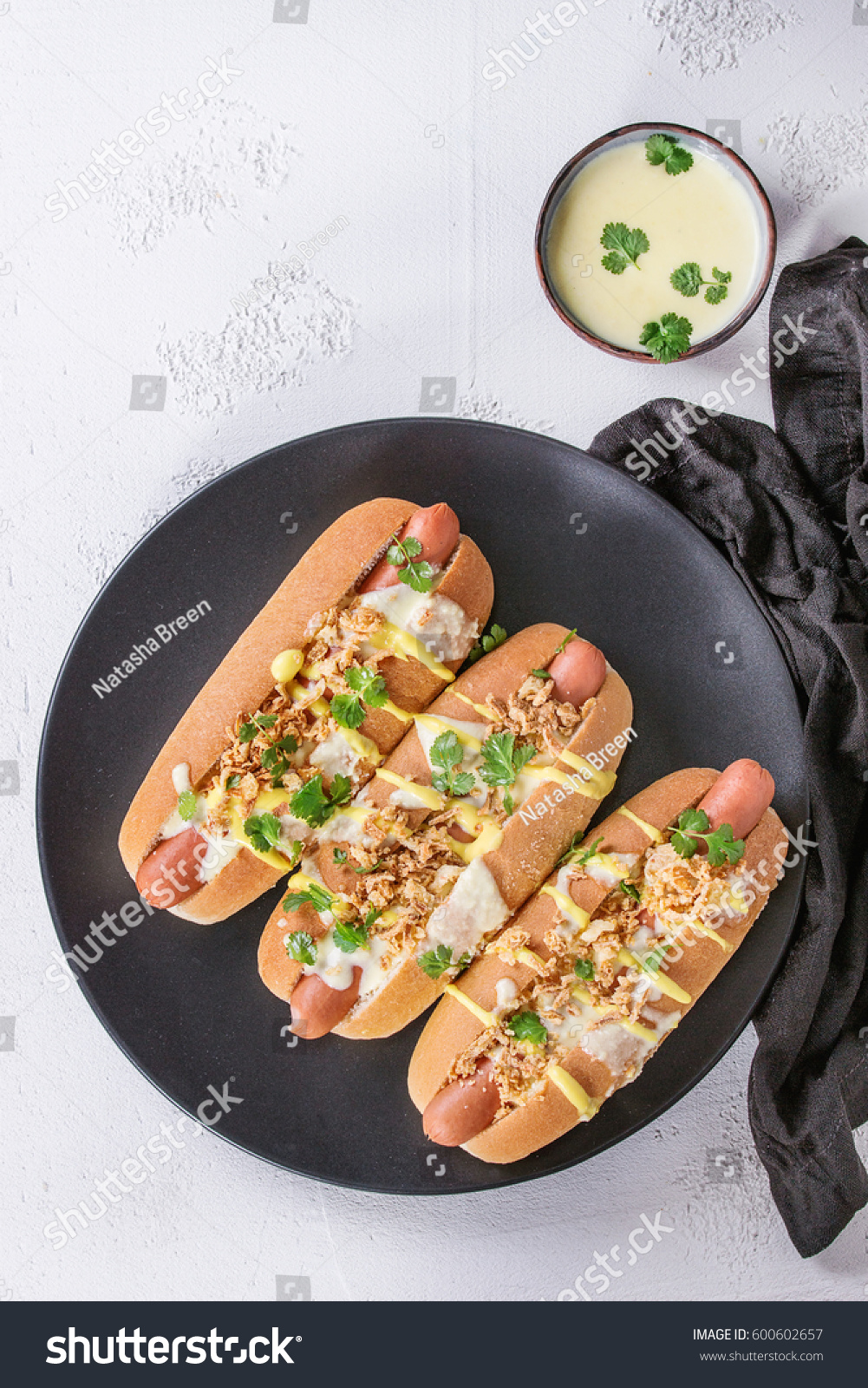 hot dogs sausage fried onion coriander stock photo 600602657 shutterstock. Black Bedroom Furniture Sets. Home Design Ideas