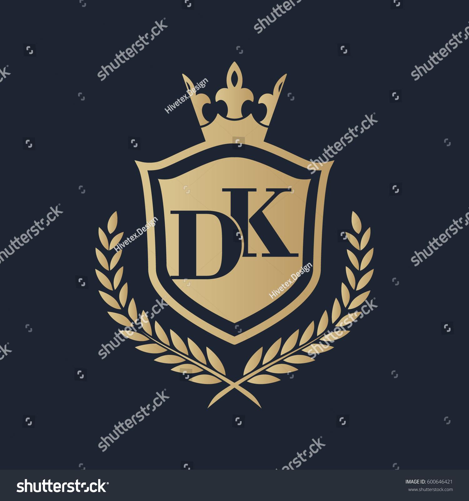 dk logo stock vector royalty free 600646421 shutterstock
