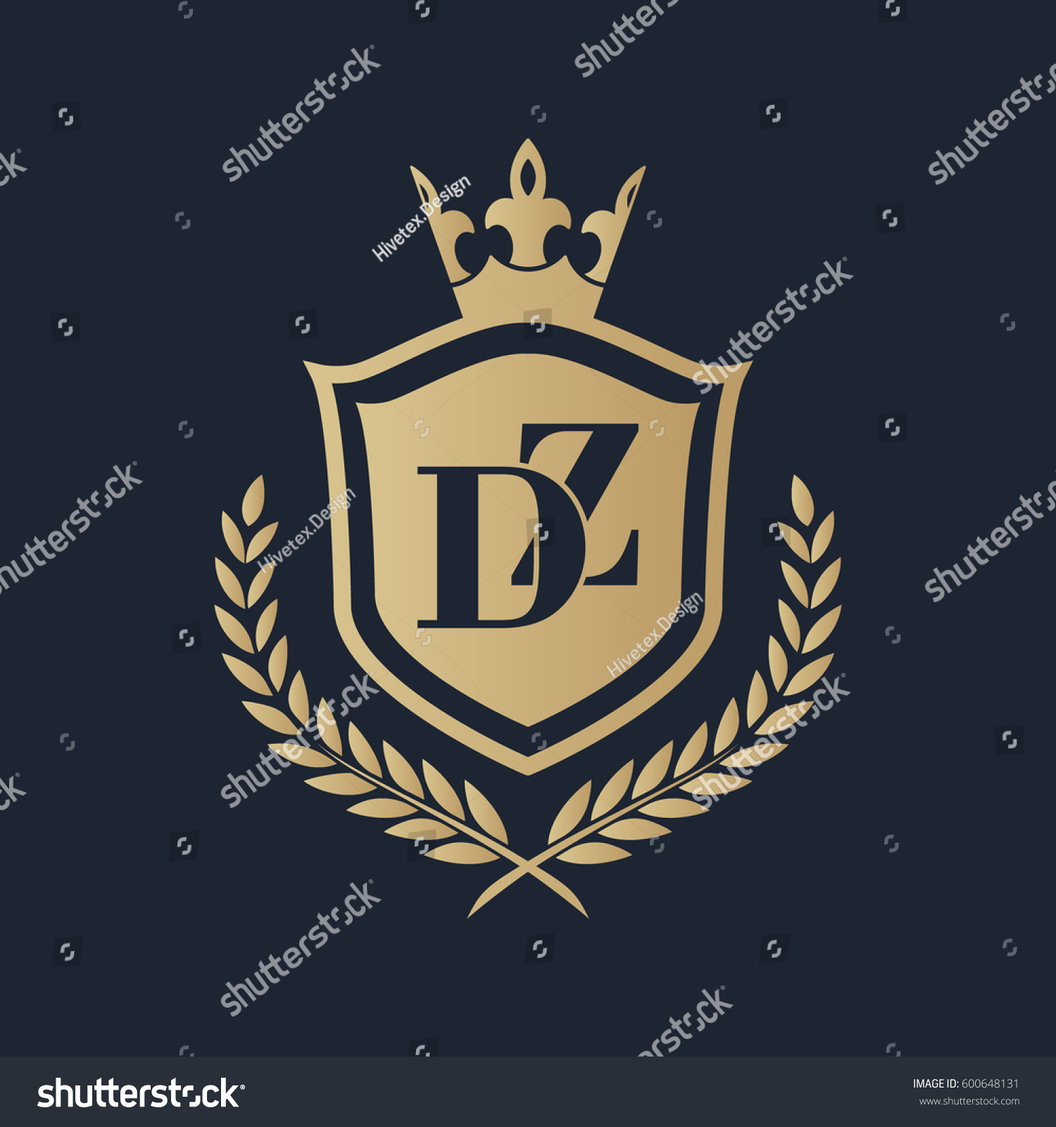 Dz >> Dz Logo Stock Vector Royalty Free 600648131 Shutterstock