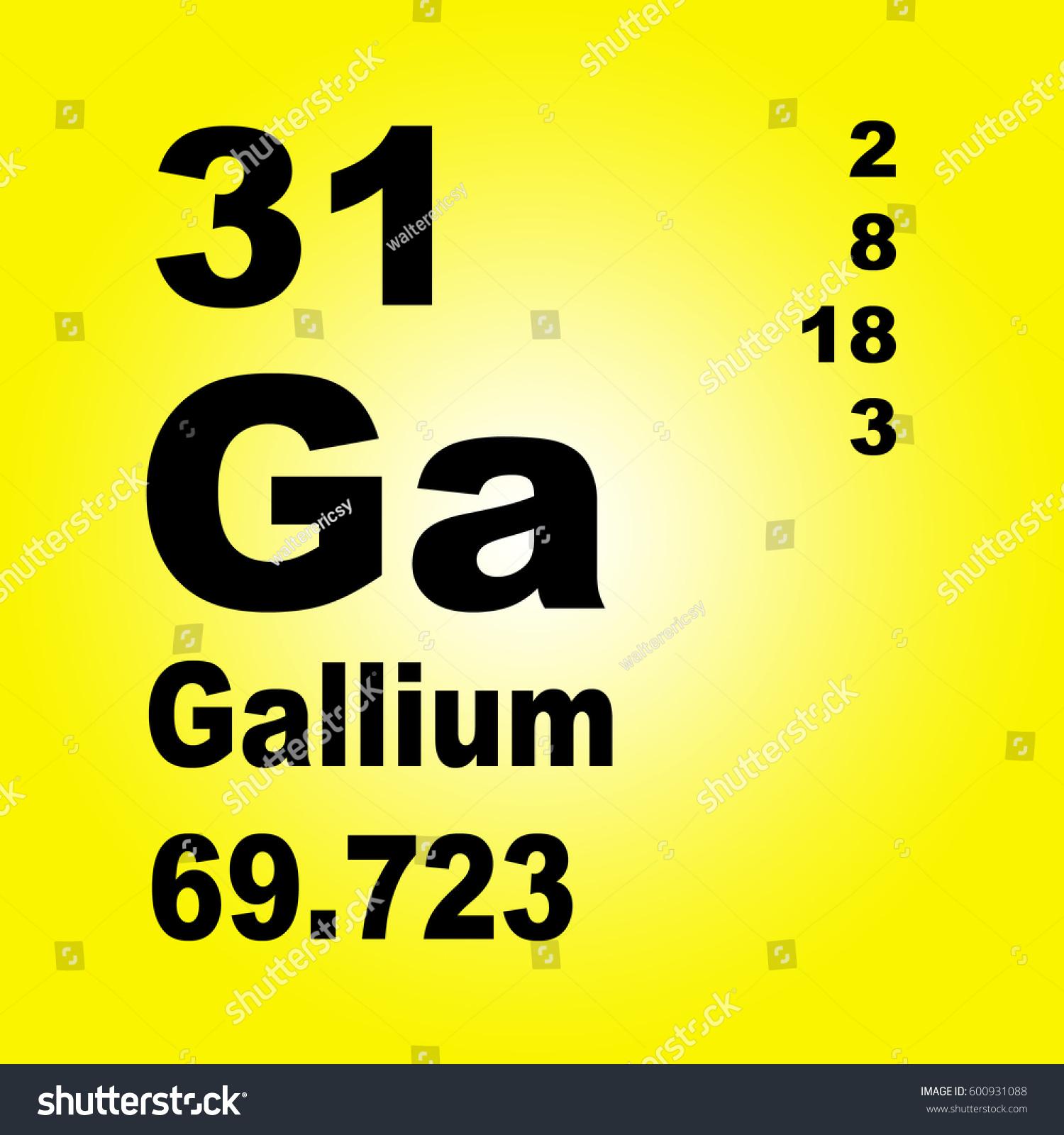 Caesium periodic table images periodic table images gallium periodic table elements stock illustration 600931088 gallium periodic table of elements gamestrikefo images gamestrikefo Choice Image