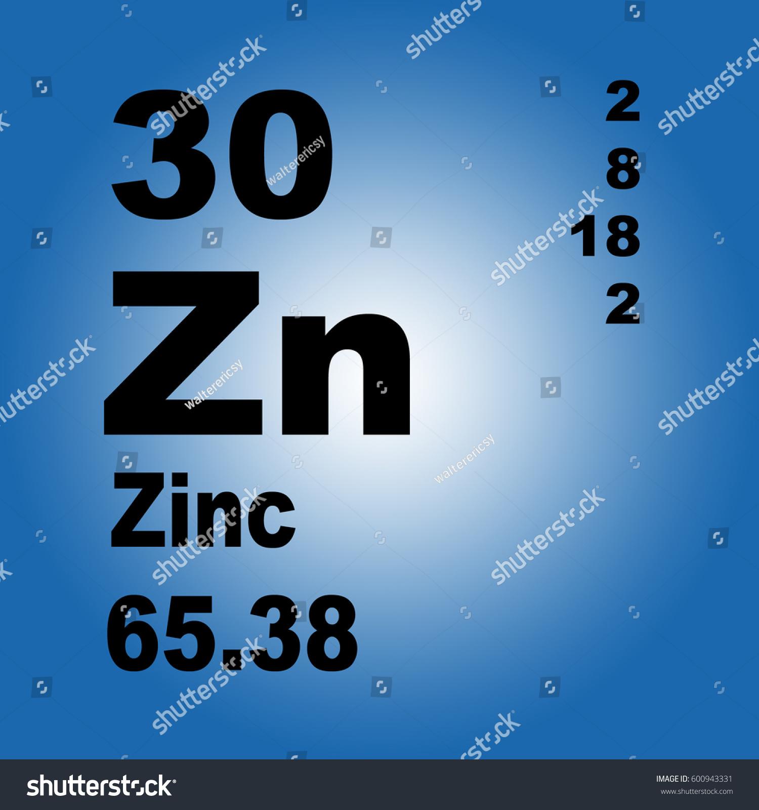 Zinc periodic table elements stock illustration 600943331 zinc periodic table of elements gamestrikefo Gallery