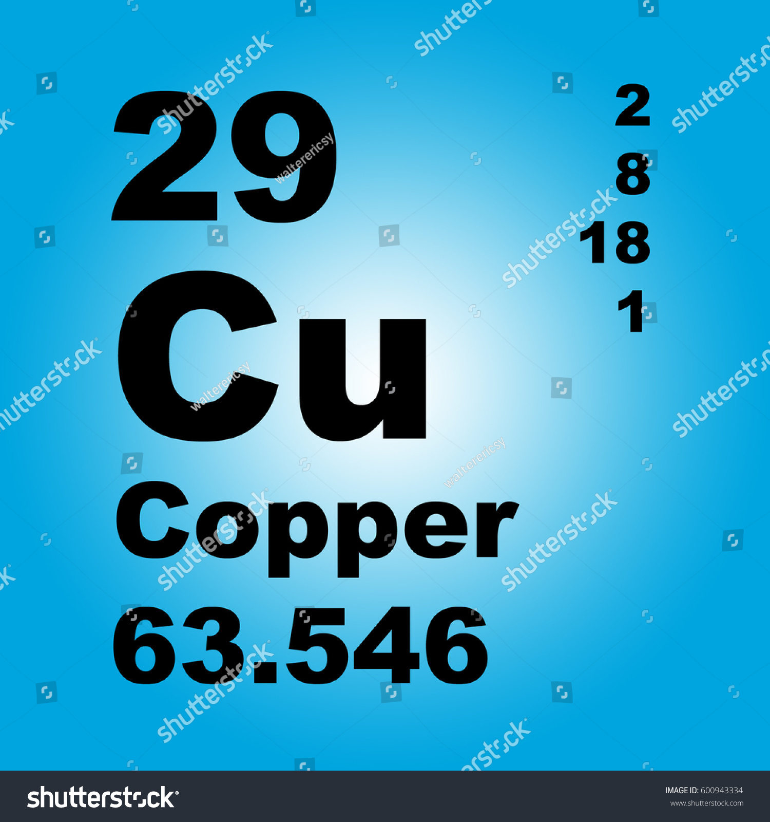 Copper periodic table elements stock illustration 600943334 copper periodic table of elements gamestrikefo Choice Image