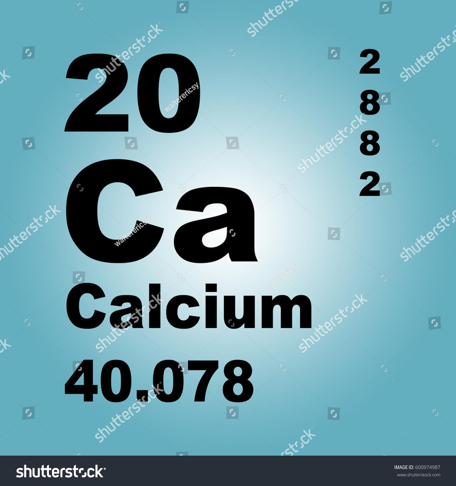 Calcium periodic table elements stock illustration 600974987 calcium periodic table of elements gamestrikefo Images