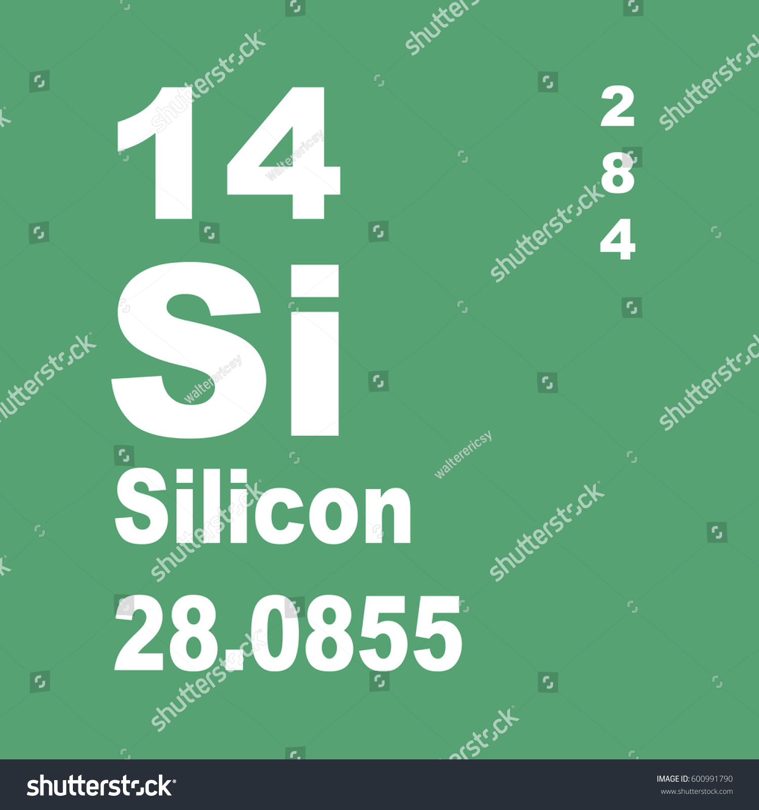 Silicon periodic table elements stock illustration 600991790 silicon periodic table of elements gamestrikefo Gallery