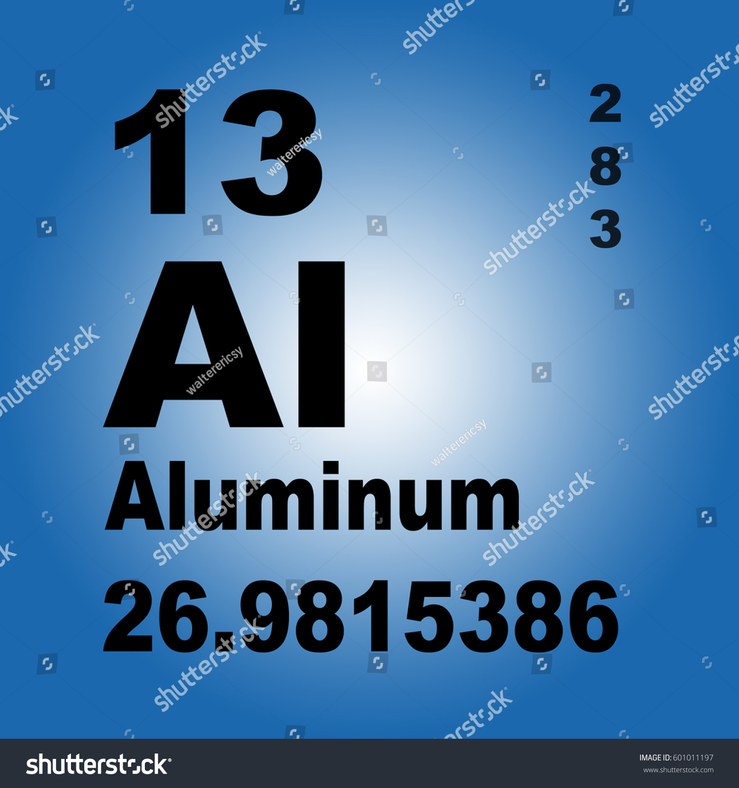 Aluminum periodic table elements stock illustration 601011197 aluminum periodic table of elements gamestrikefo Image collections