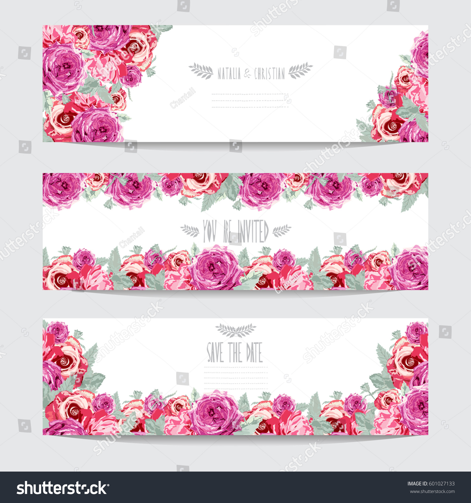 Royalty Free Stock Illustration Of Elegant Cards Decorative Rose