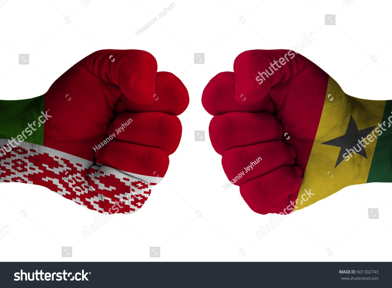 Belarus Vs Ghana Stock Photo 601302743 Shutterstock