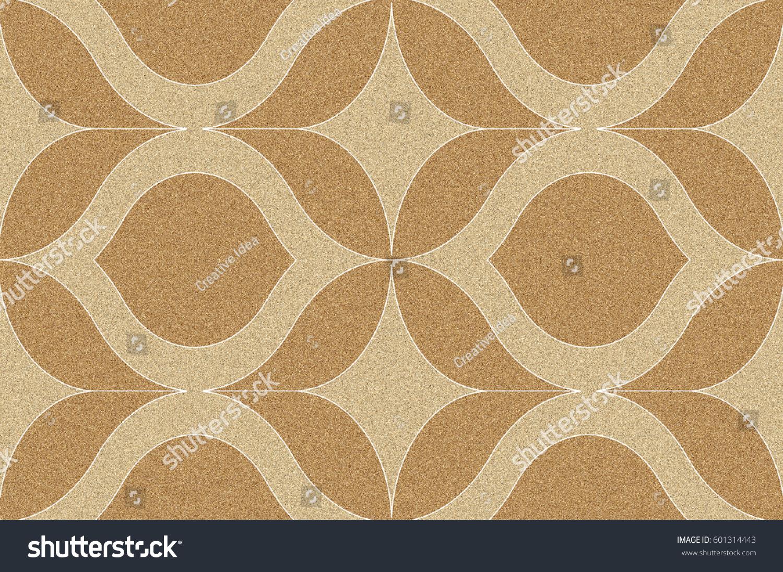 Abstract Wall Floor Decorative Tile Design Stock Illustration ...