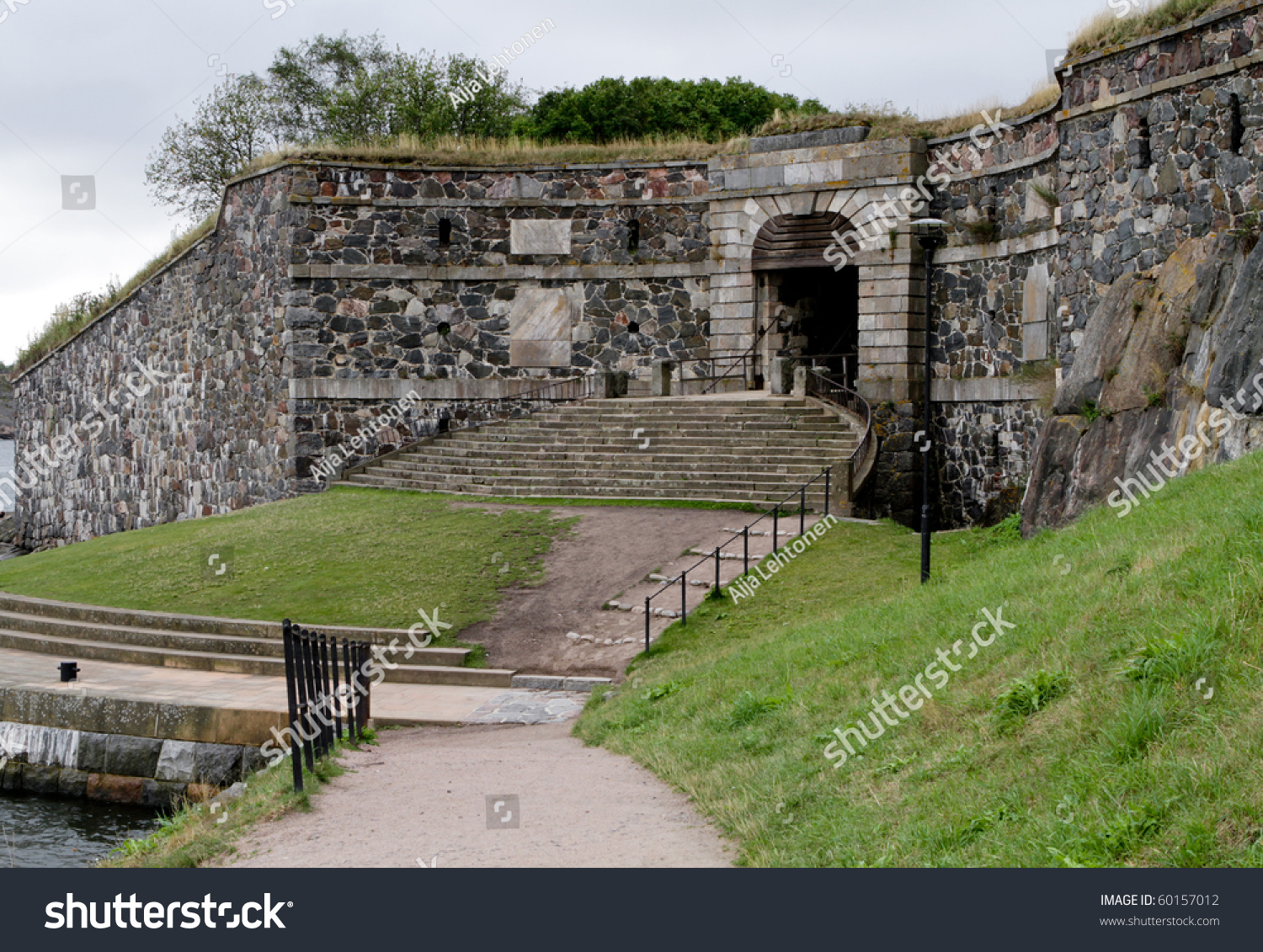 King'S Gate At Suomenlinna, Finland - An Unesco World Heritage Site Stock Photo 60157012 ...