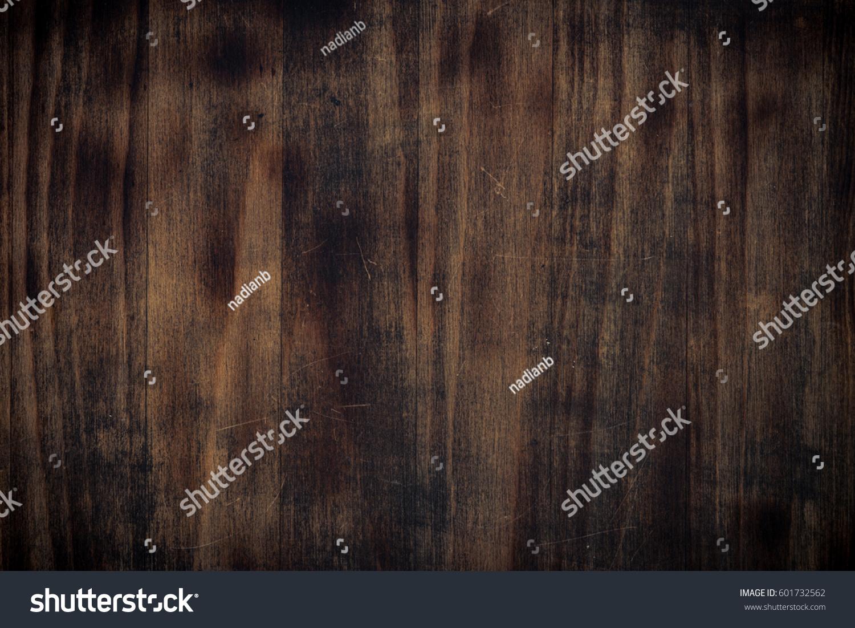 horizontal wood background. Dark Brown Wooden Texture. Empty Horizontal. Background. Horizontal Wood Background