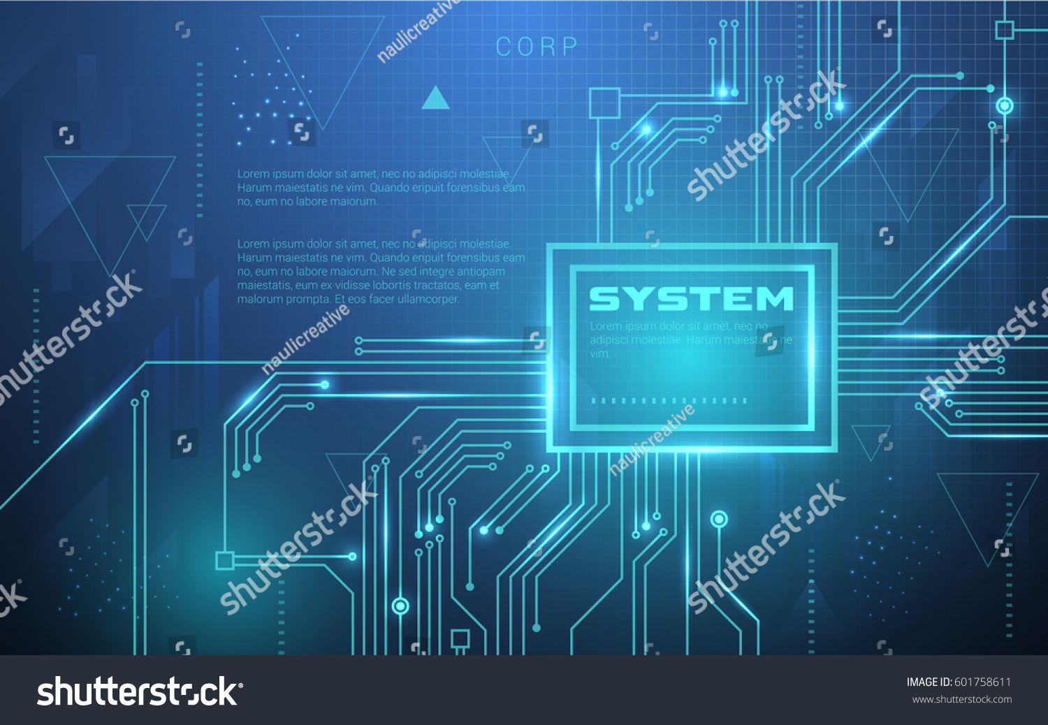 ultra hd abstract sci fi technology stock vector hd (royalty free