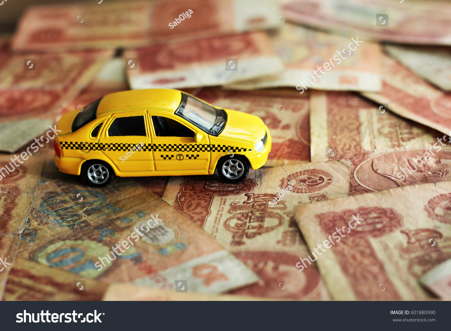 Taxi And Money