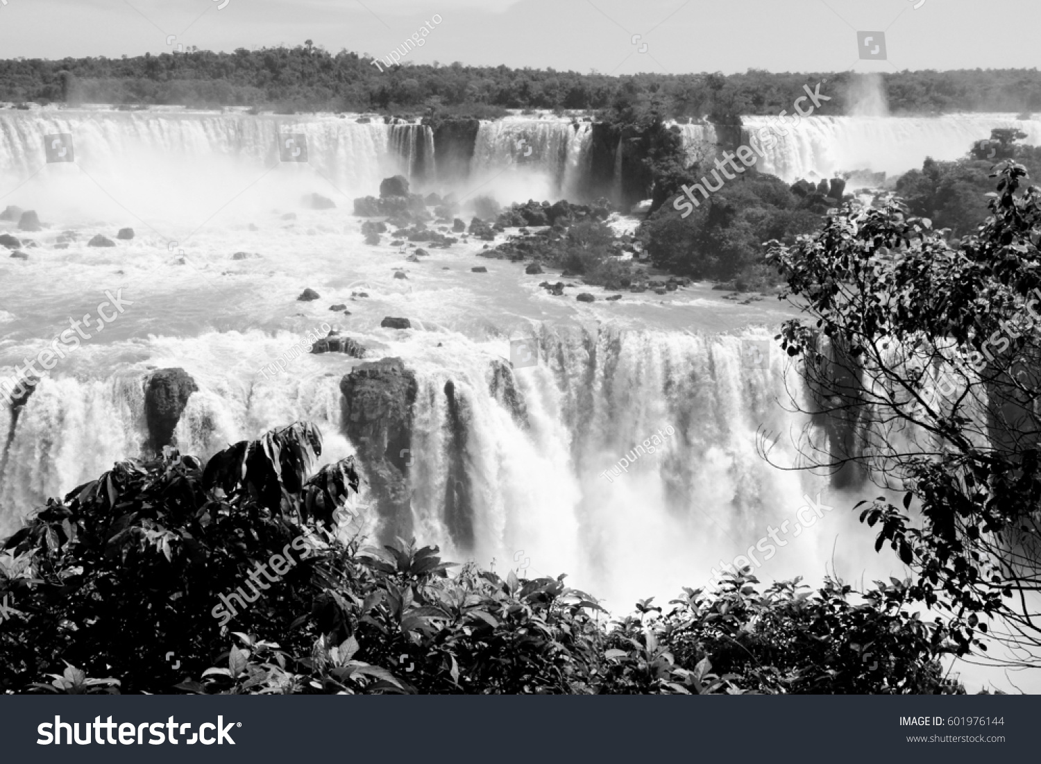 stock-photo-iguazu-falls-landscape-black