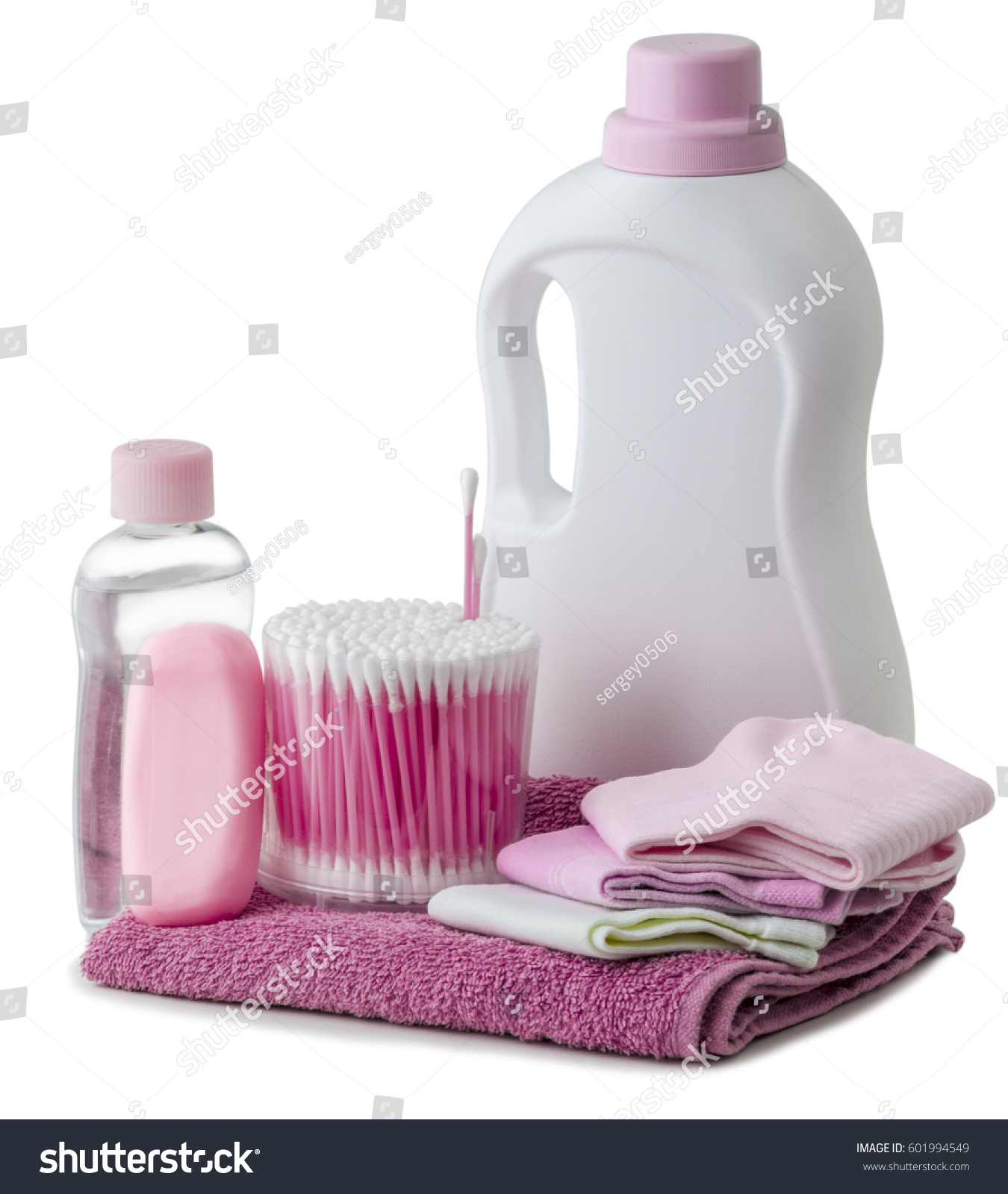 Hygiene Products Bathroom Accessories Stock Photo (Royalty Free ...