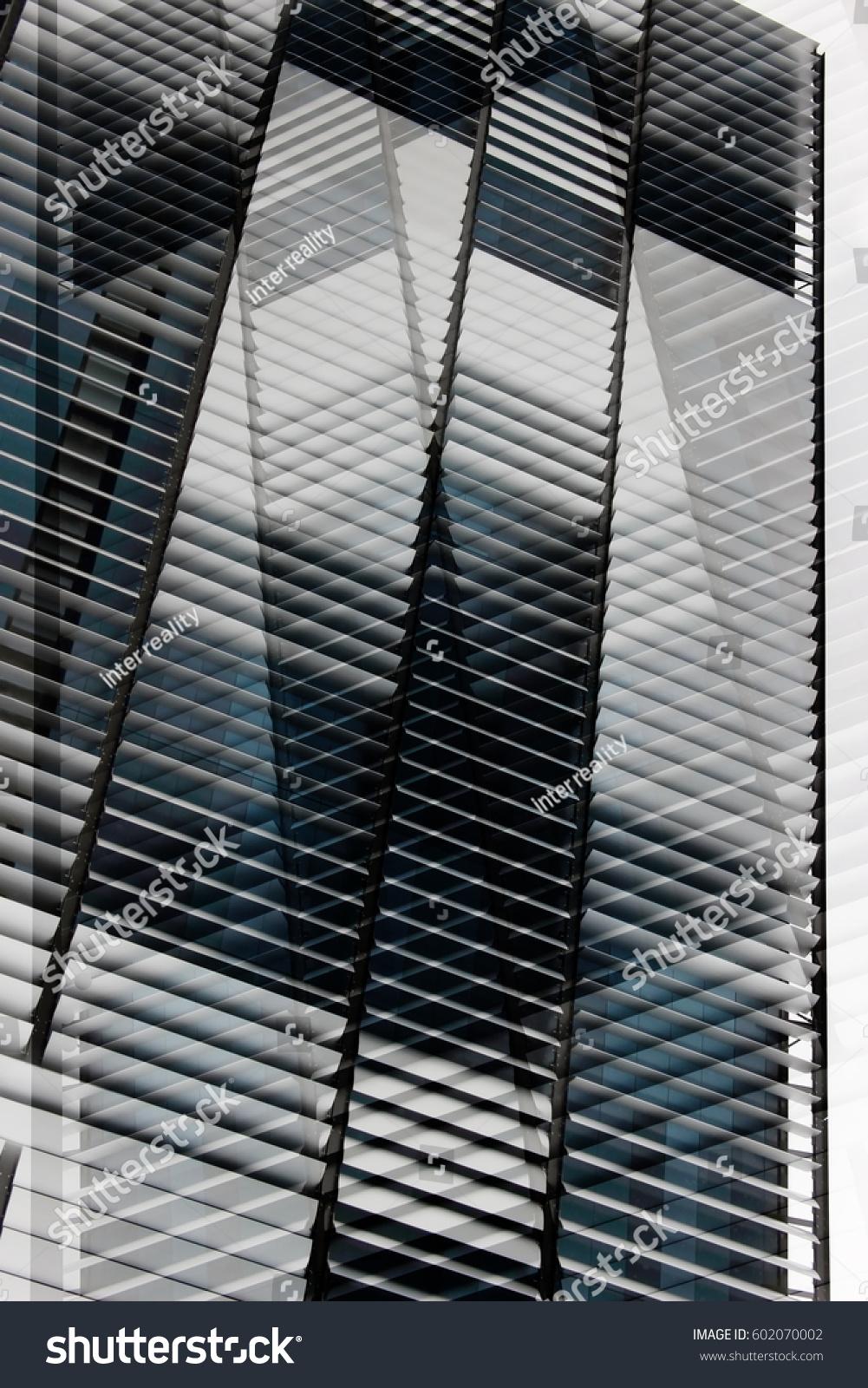 louvered structure reworked tilt photo ajar stock photo 602070002 shutterstock. Black Bedroom Furniture Sets. Home Design Ideas