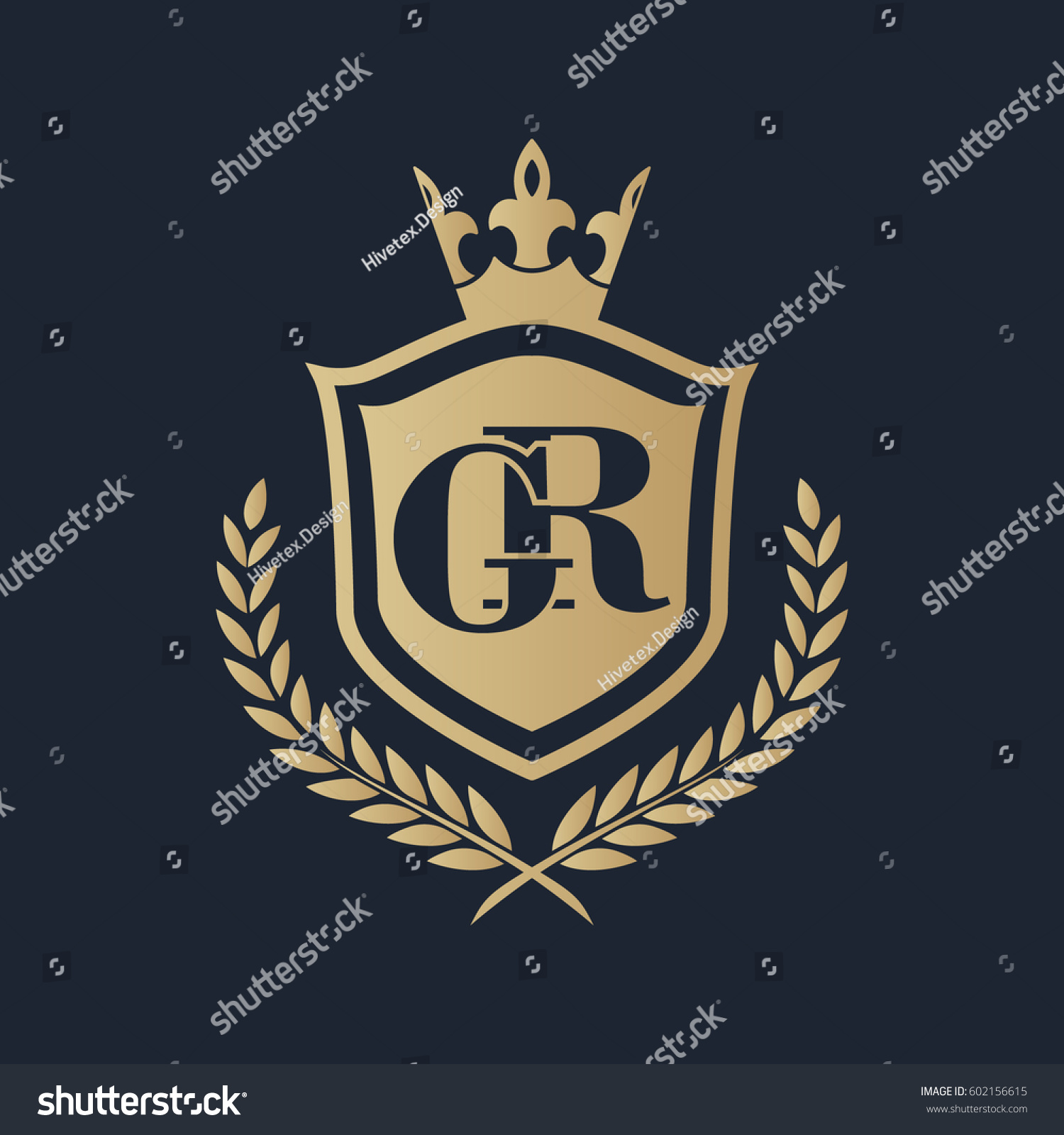 559cdbcaf8f9 GR Logo Stock Vector (Royalty Free) 602156615 - Shutterstock