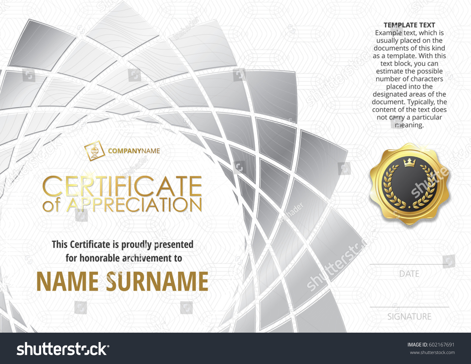 Business certificate templates skipping certificate federal resume business certificate templates skipping certificate medical stock vector template of certificate of appreciation with golden badge yadclub Gallery