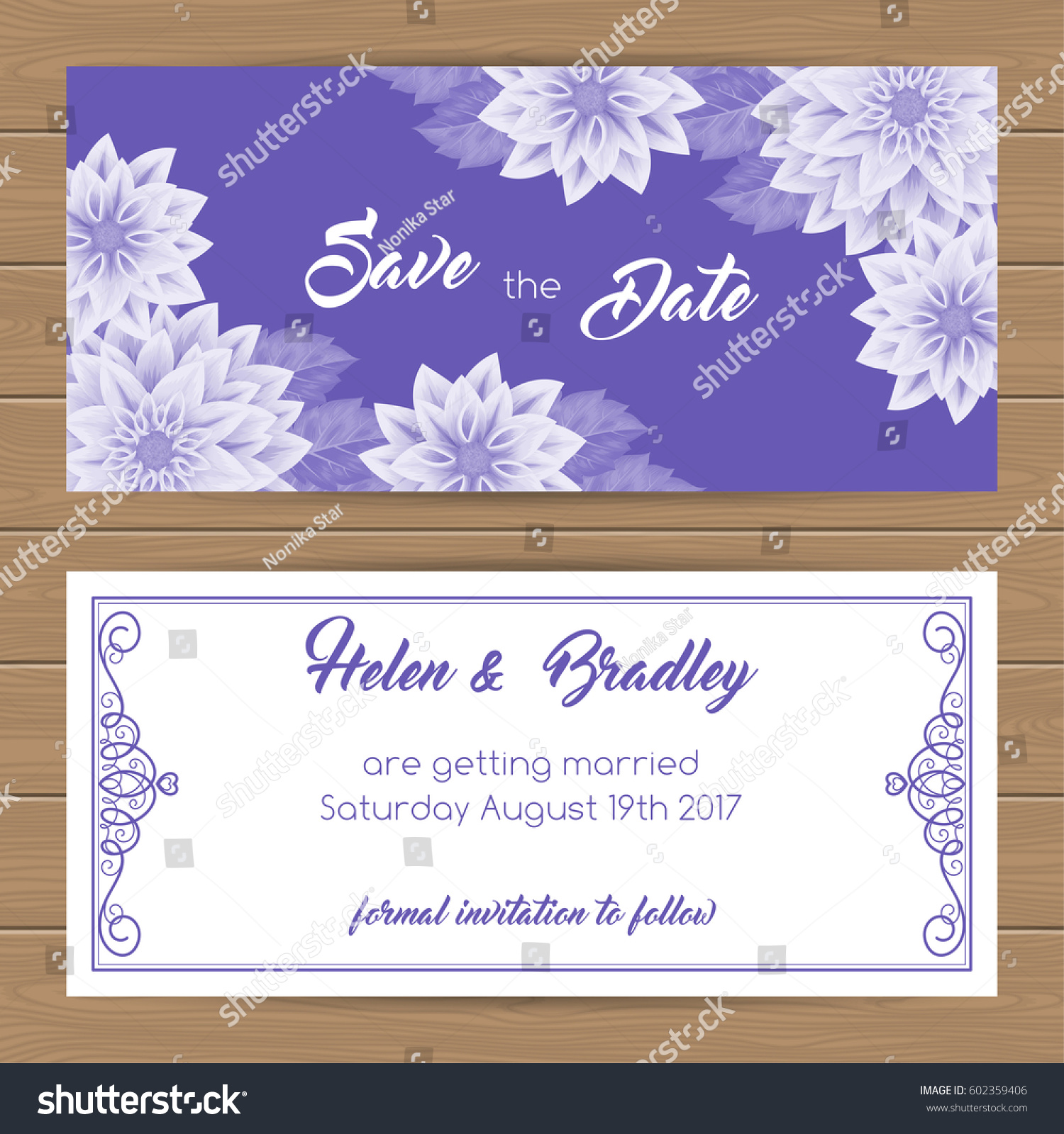 online card template