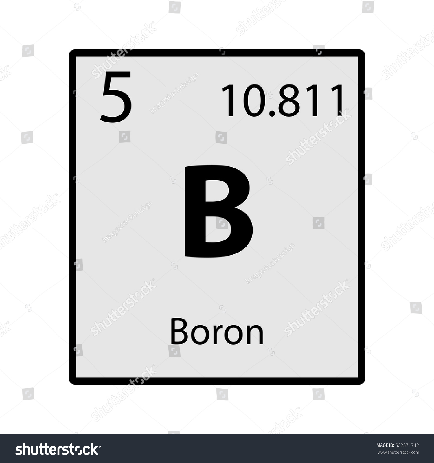Boron on periodic table images periodic table images boron on periodic table aviongoldcorp boron periodic table element gray icon stock vector 602371742 gamestrikefo images gamestrikefo Image collections