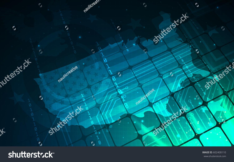 Ultra HD Indigo Abstract Sci Fi Stock Vector (Royalty Free ...
