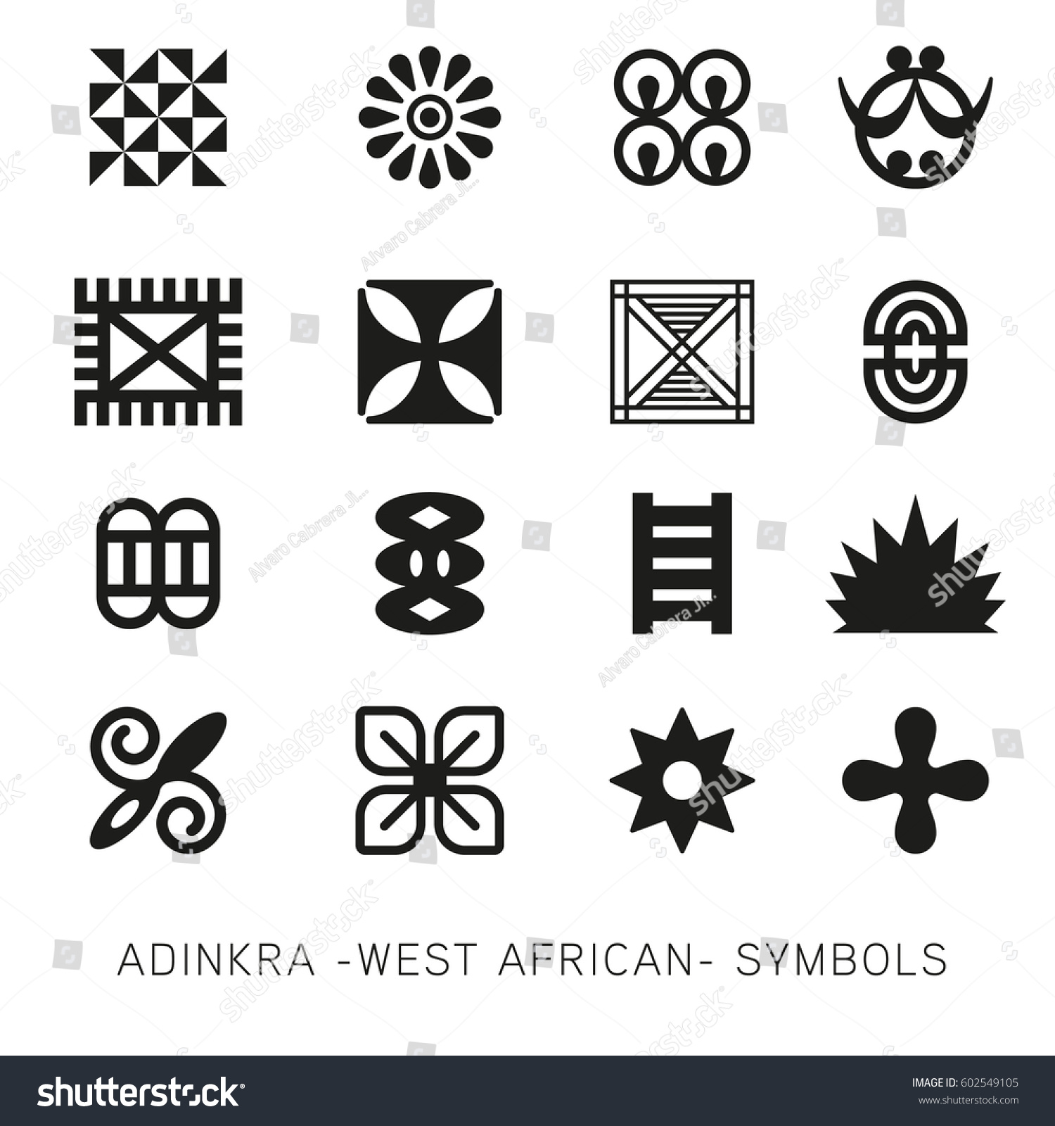 West African Adinkra Tattoos Images For Tatouage
