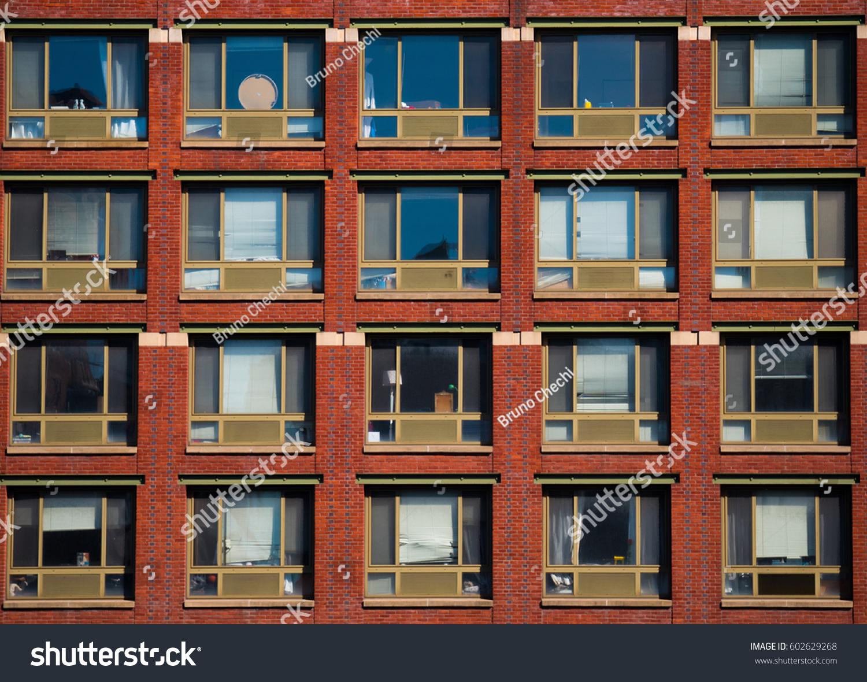 Pattern Windows New York Stock Photo Edit Now 602629268 Shutterstock