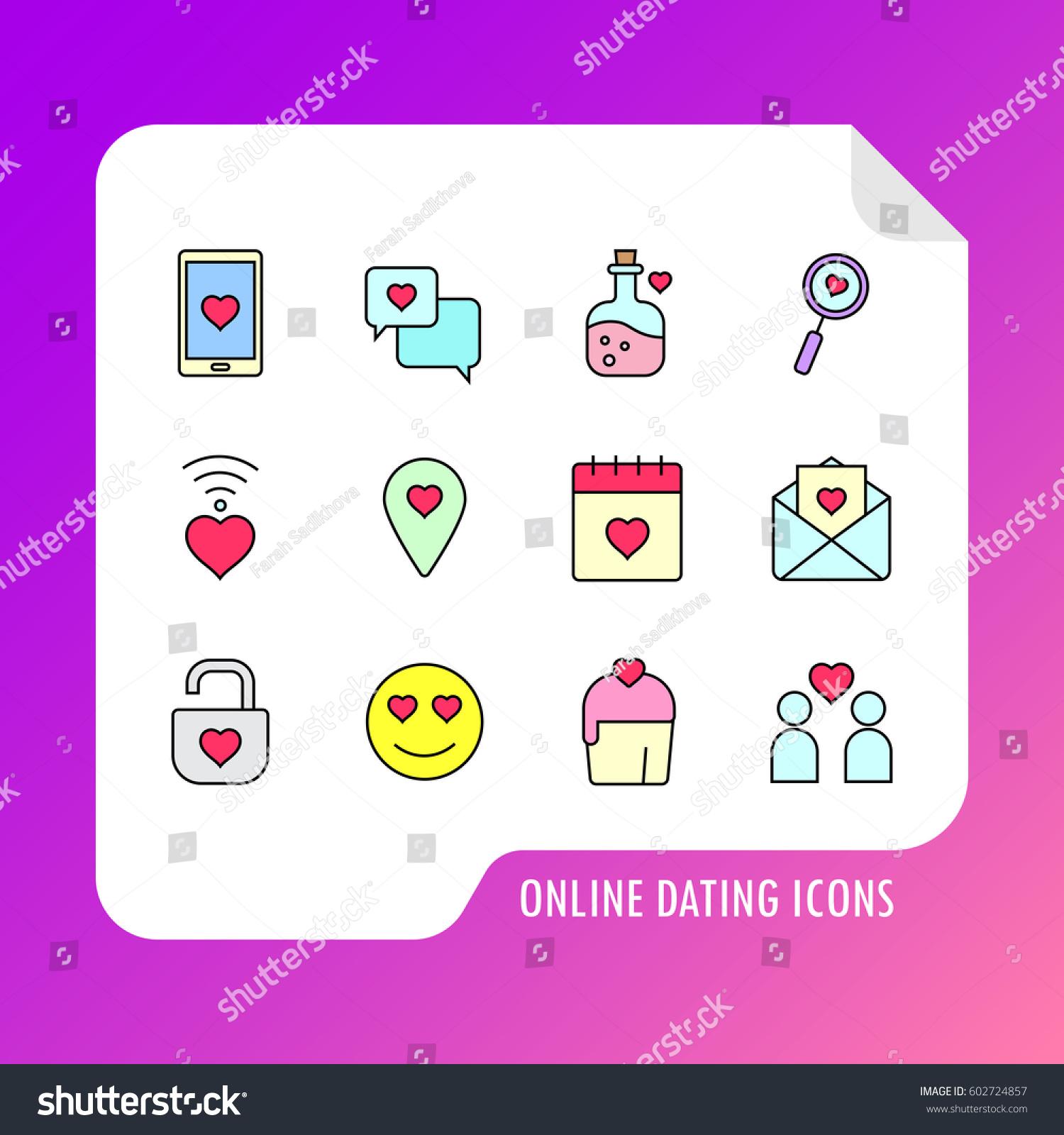 immagini vettoriali online dating