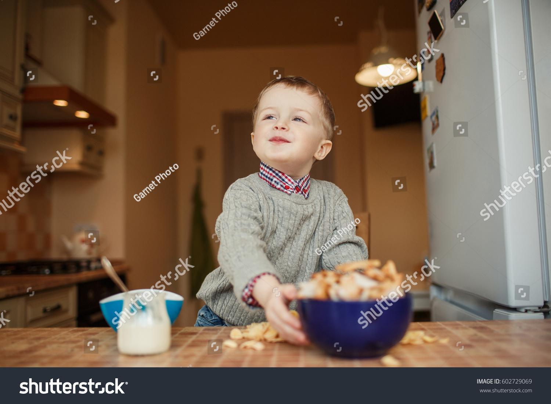 Kid Proud Look Stock Photo 602729069 - Shutterstock