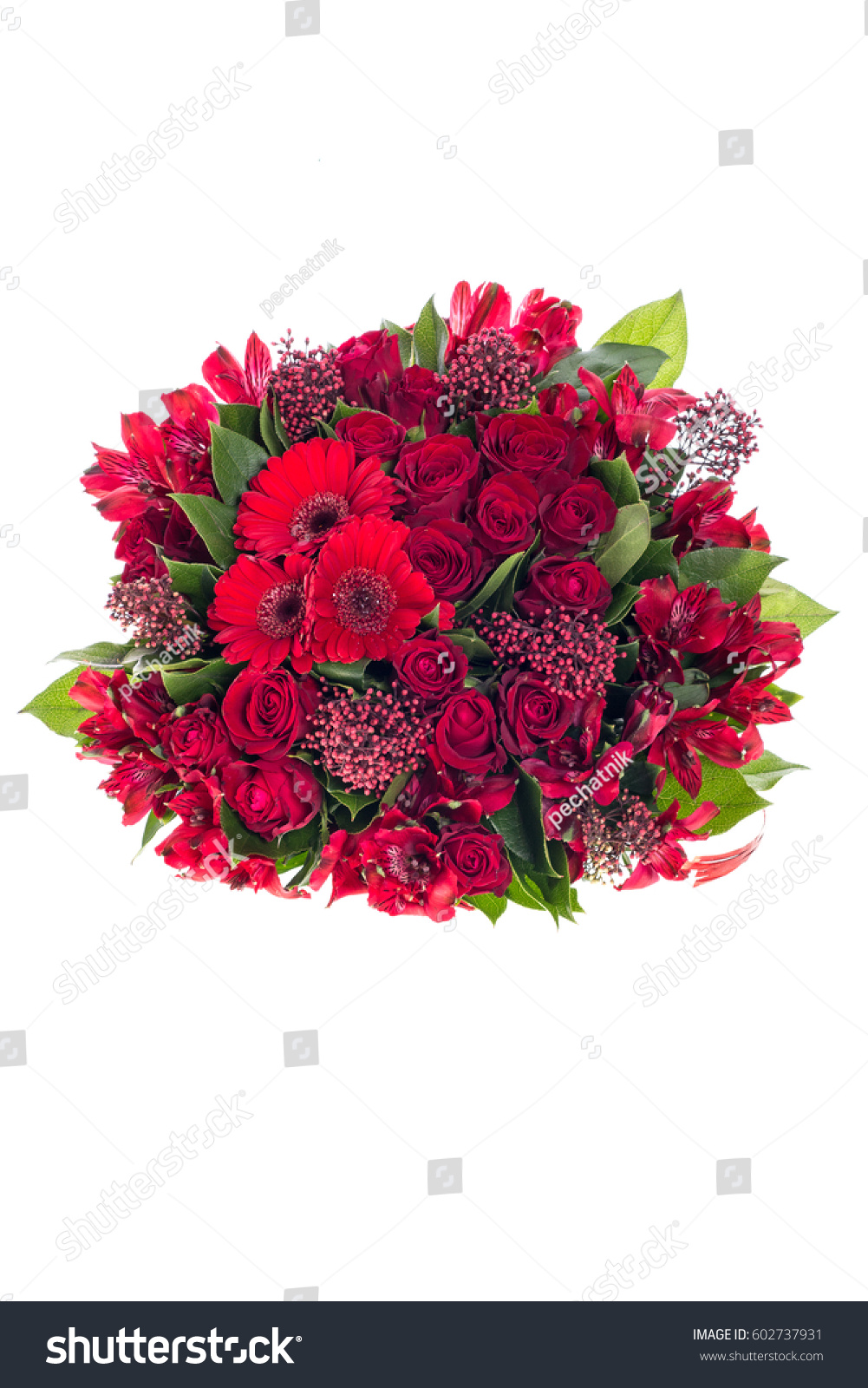 Beautiful Bouquet Flowers Stock Photo Edit Now 602737931