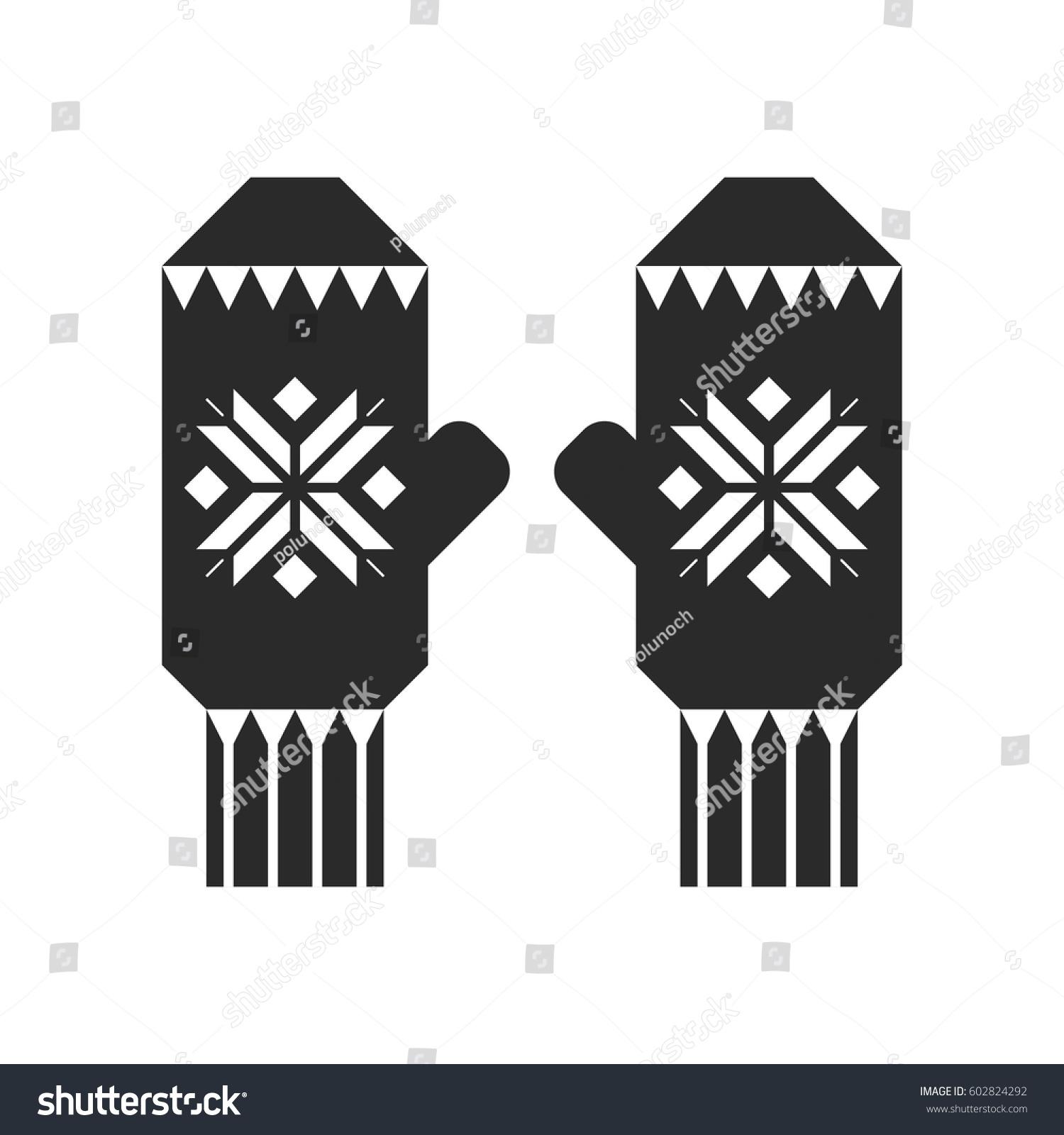 Winter Sports Outdoor Activities Equipment Couple Stock Vector
