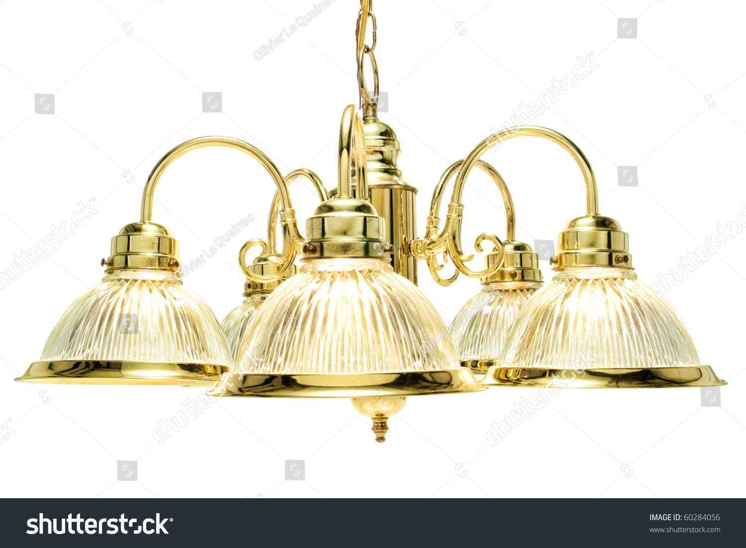 classic style home dining room bright brass with glass shades chandelier light fixture isolated. Black Bedroom Furniture Sets. Home Design Ideas