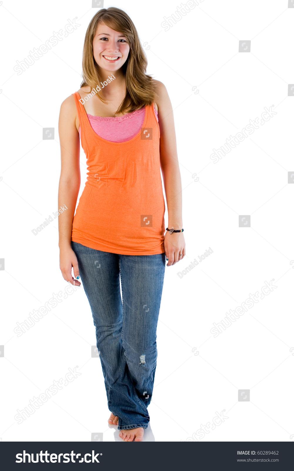 Cute Teen Fashion Stock Photo 60289462 Shutterstock