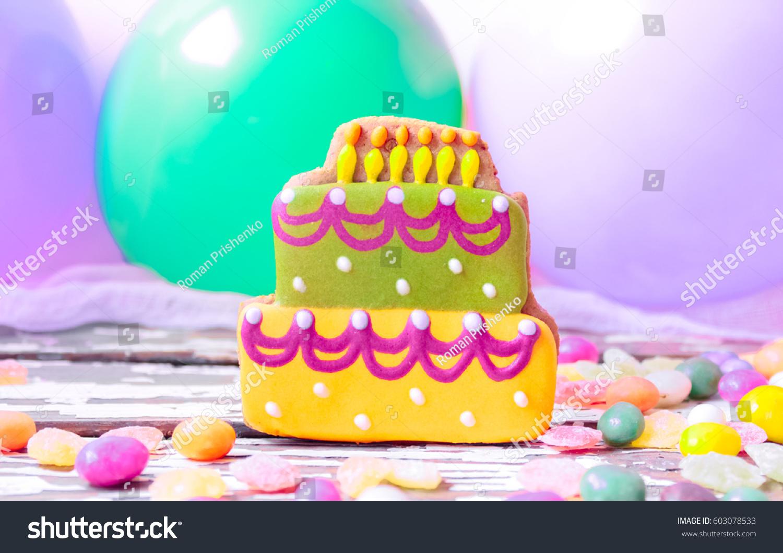 Gingerbread Birthday Cakes Ez Canvas