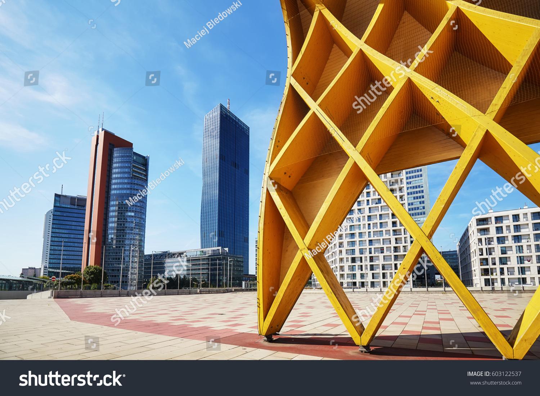 vienna modern architecture in the uno city complex austria - Modern Architecture Vienna