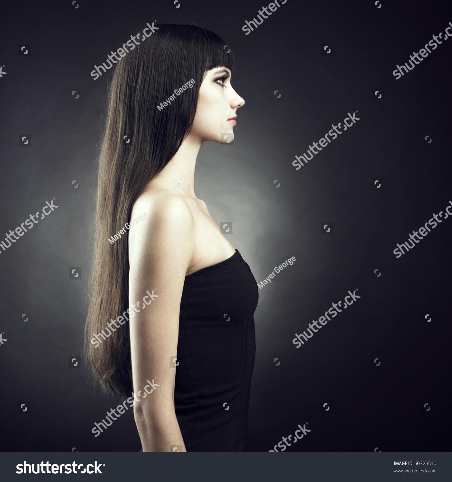 Фото красивых девушек с темными волосами 26 фотография