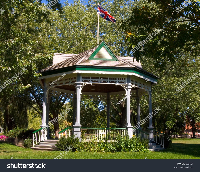 Pavilion Victoria Park Kitchener Ontario Canada Stock