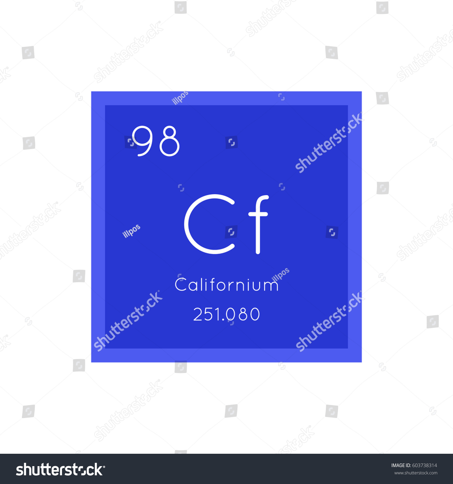 Californium simple style tile icon chemical stock vector 603738314 californium simple style tile icon chemical element of periodic table vector illustration eps8 gamestrikefo Images