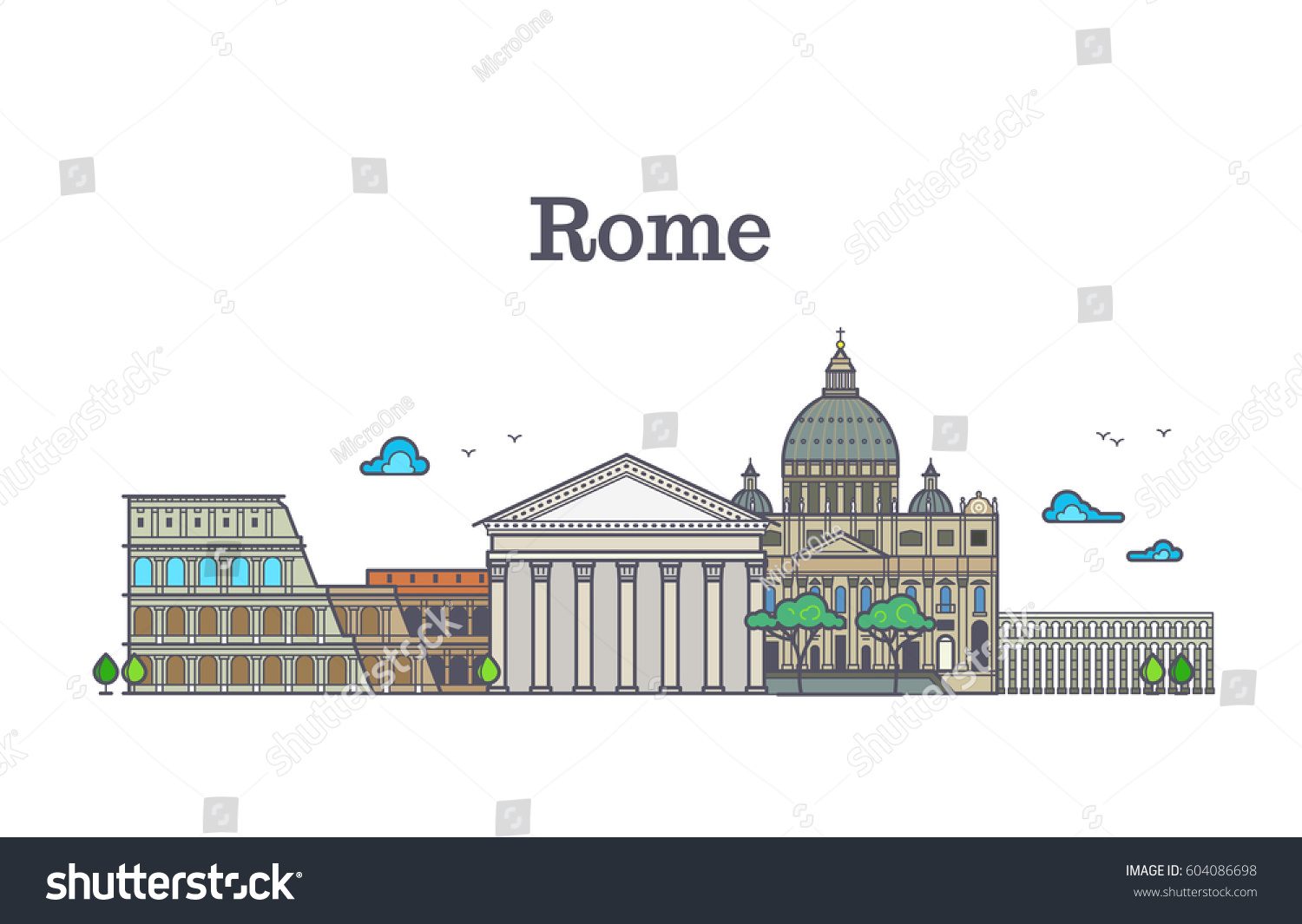 an analysis of the romes architecture an the concept of building rome As the oldest roofed building, the pantheon is an eloquent expression of roman culture the colisseum of rome, orignially known as the flavian ampitheatre, is not so well preserved as the pantheon.