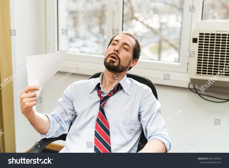 Broken Air Conditioner Office Hot Stock Photo 604122920 Shutterstock