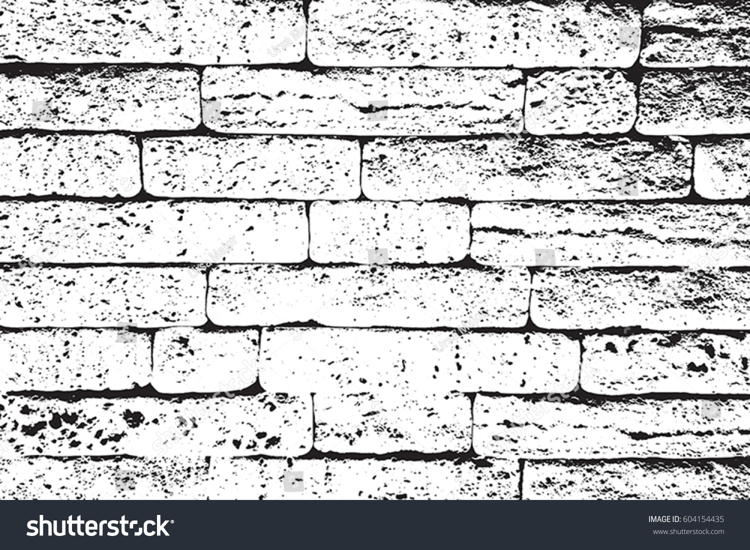 distress brick wall masonry overlay texture stock vector 604154435 shutterstock. Black Bedroom Furniture Sets. Home Design Ideas