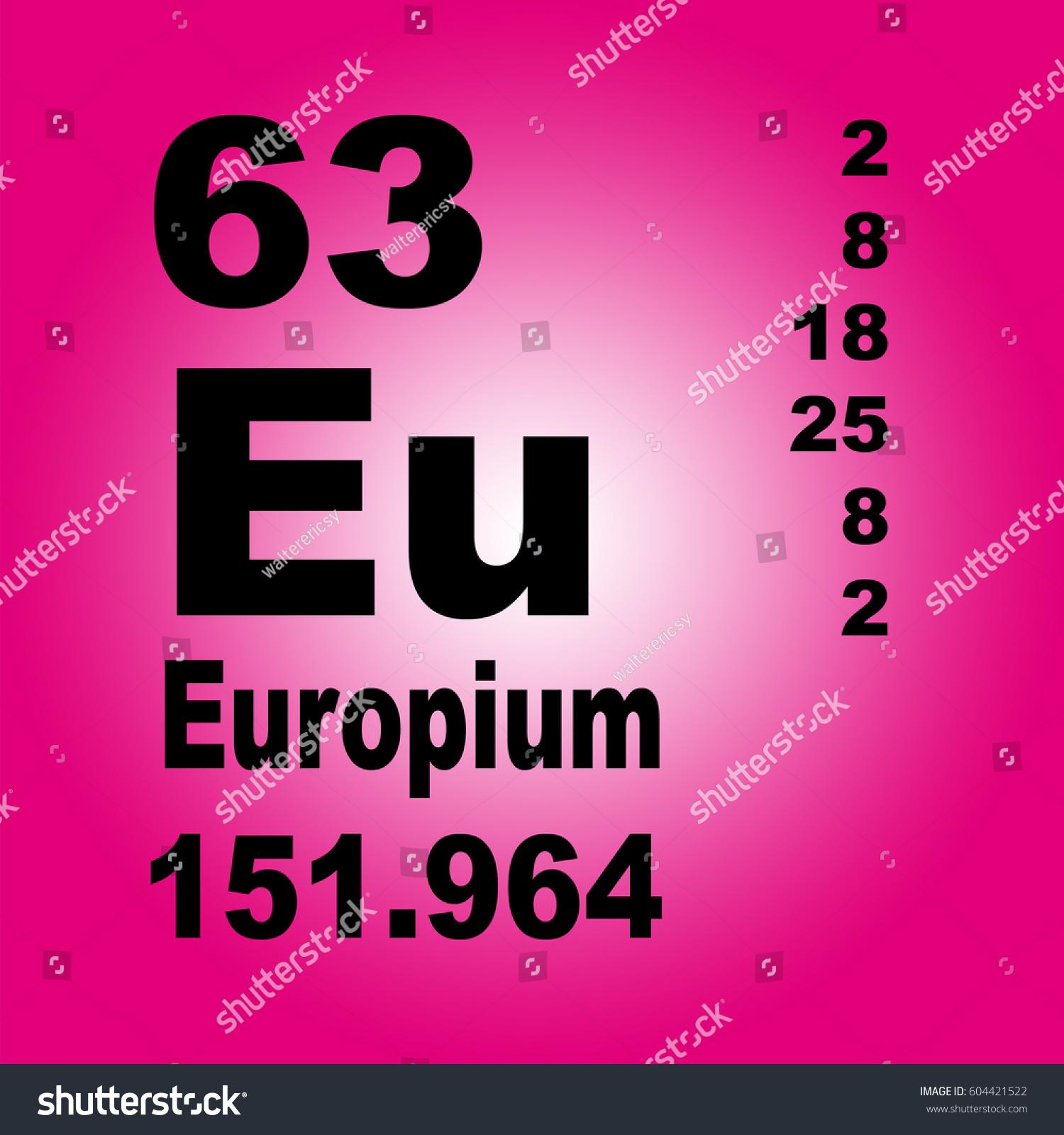 Europium periodic table elements stock illustration 604421522 europium periodic table elements stock illustration 604421522 shutterstock urtaz Choice Image