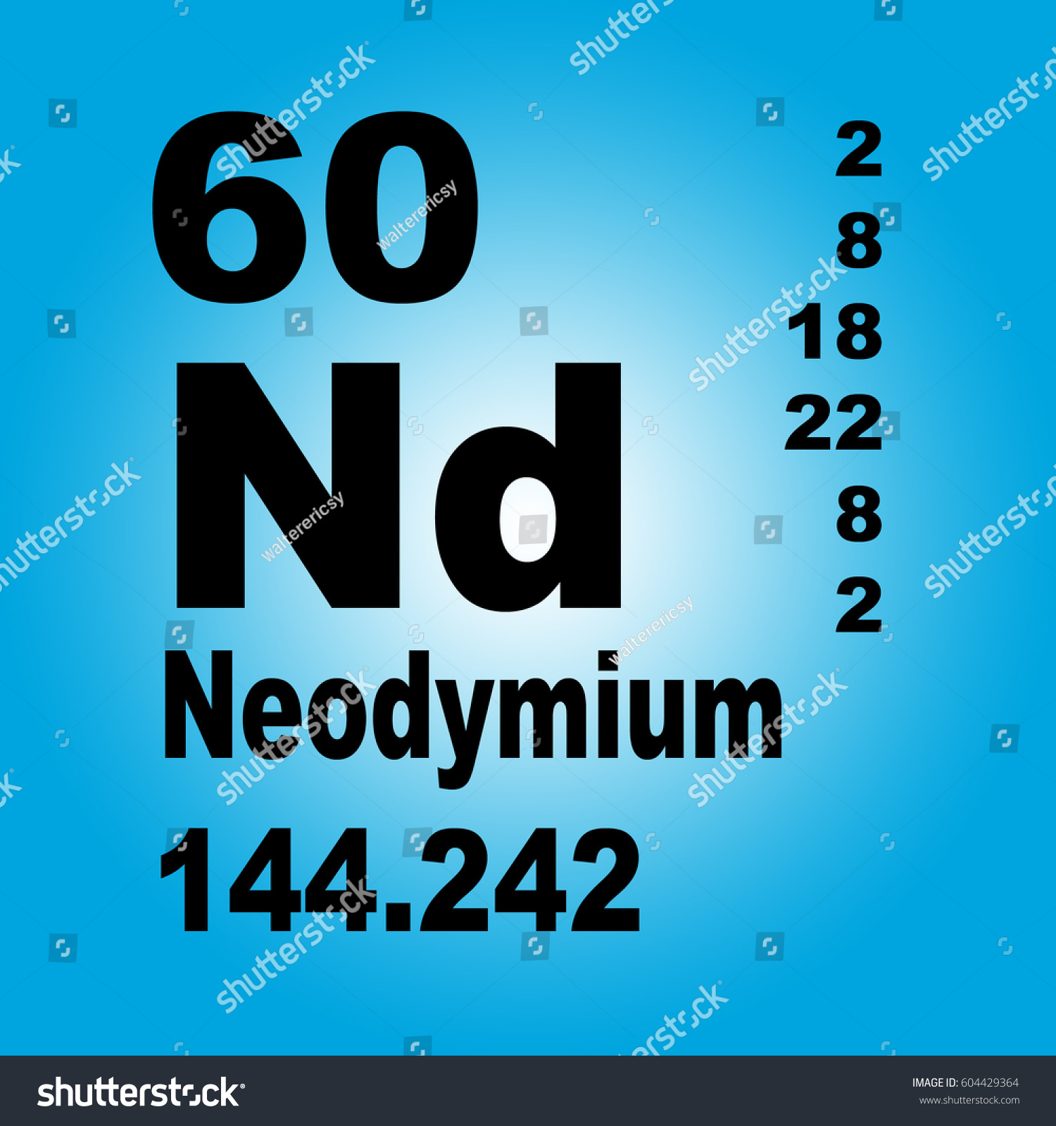 Neodymium periodic table elements stock illustration 604429364 neodymium periodic table of elements gamestrikefo Choice Image