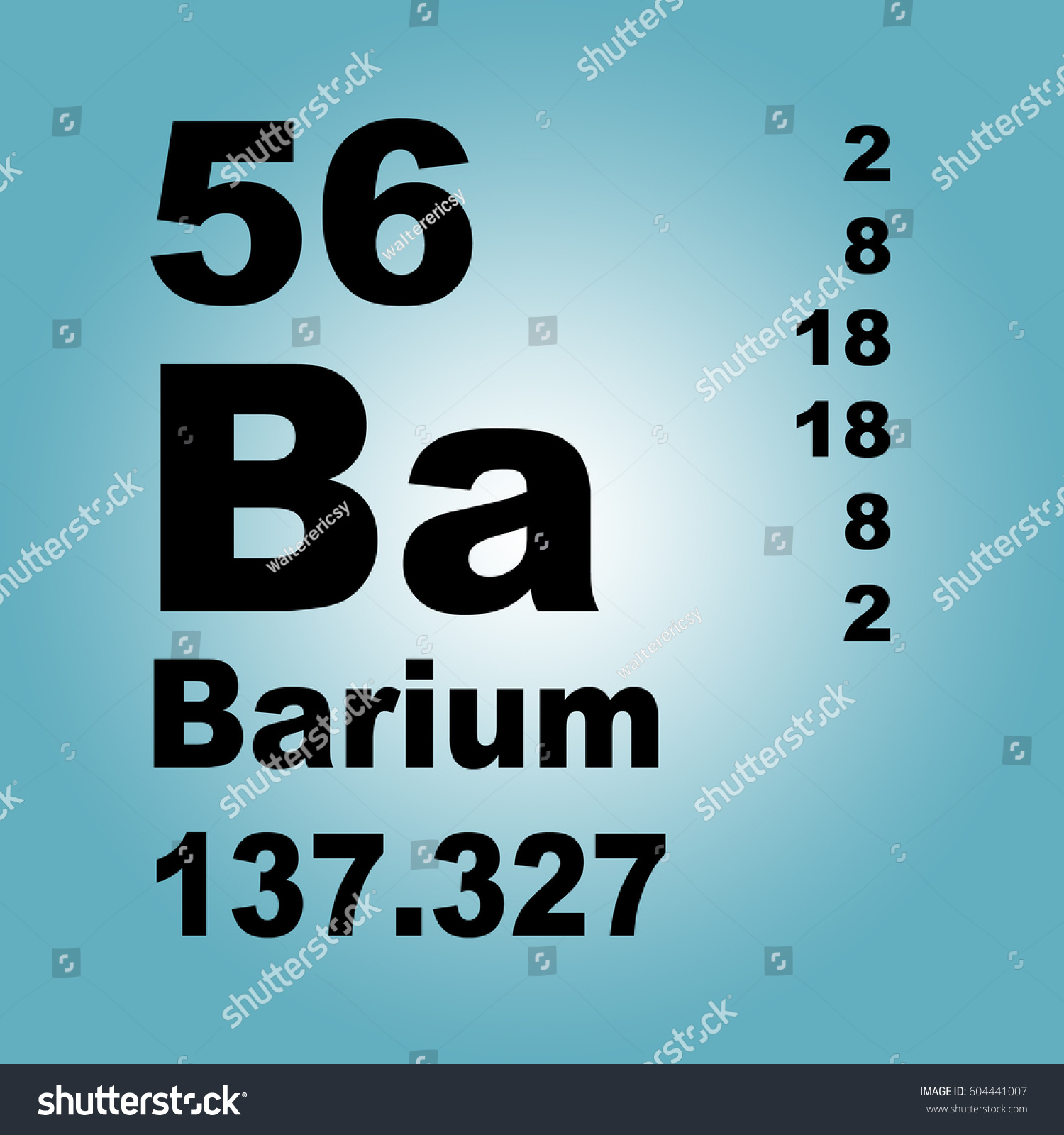 Barium periodic table elements stock illustration 604441007 barium periodic table of elements gamestrikefo Image collections