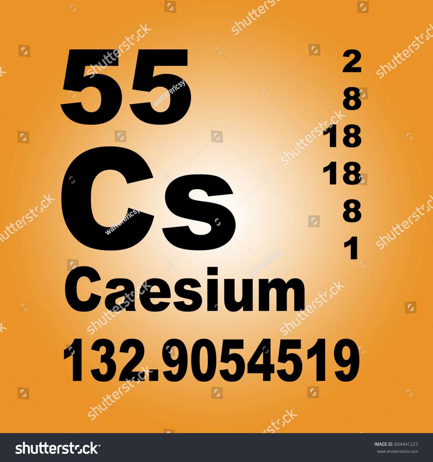 Cesium periodic table choice image periodic table images cesium periodic table gallery periodic table images caesium periodic table elements stock illustration 604441223 caesium periodic gamestrikefo Image collections