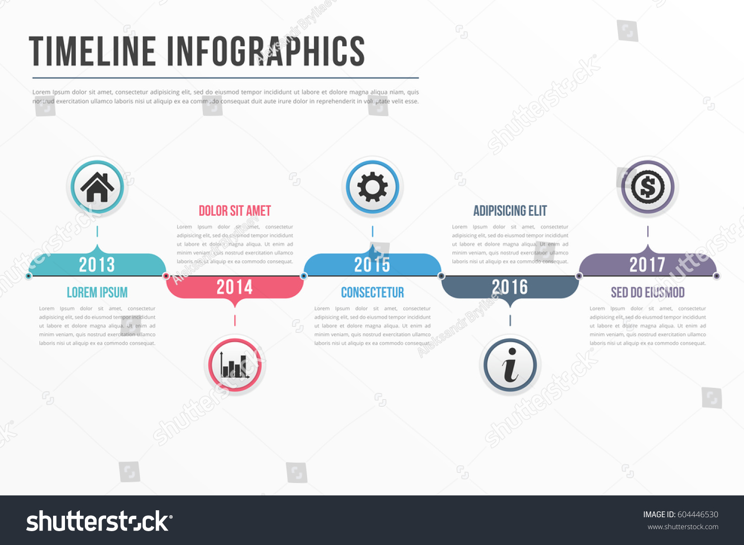 timeline infographics template workflow process infographics stock