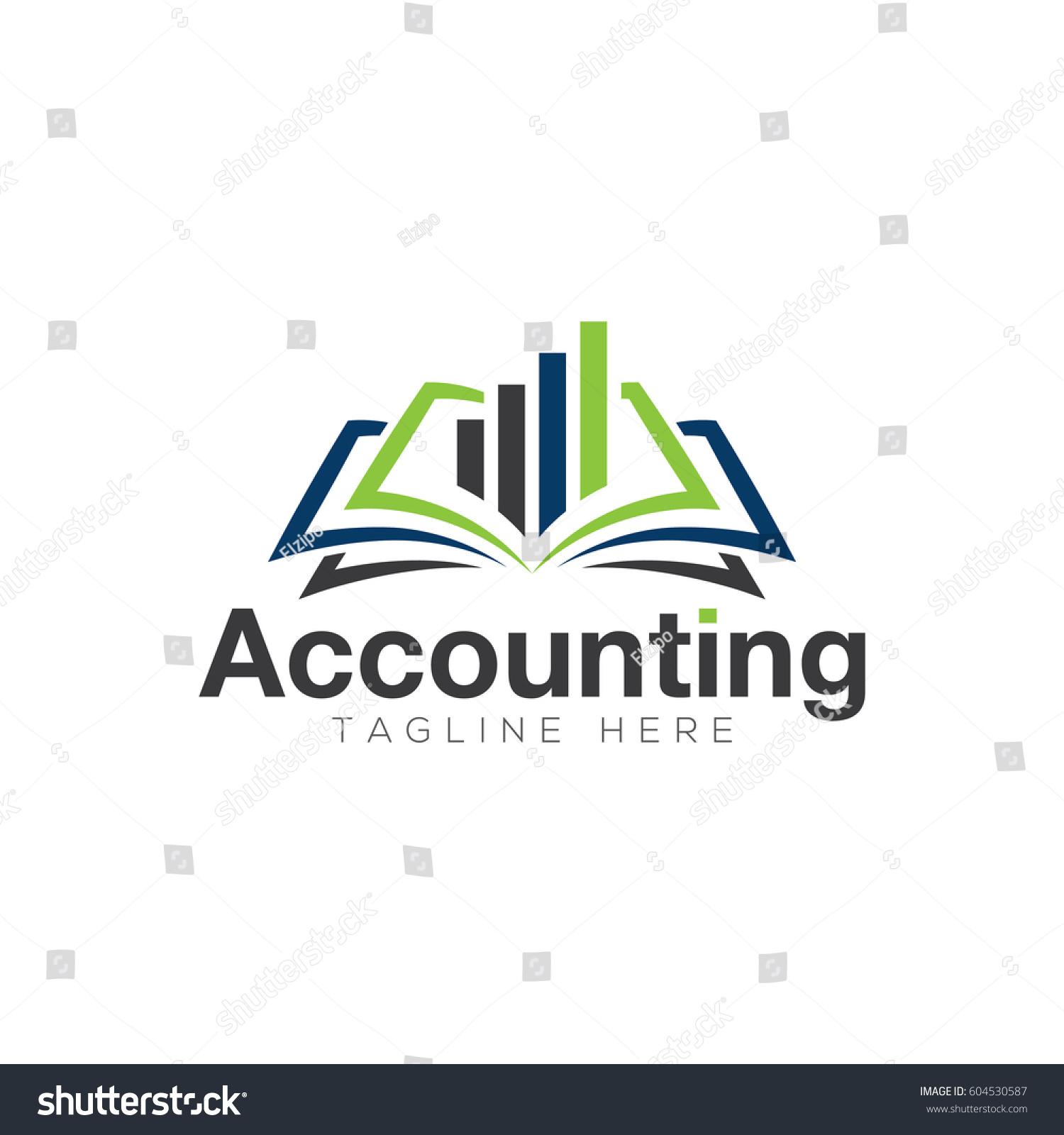 Accounting Logo Design Stock Vector 604530587 - Shutterstock