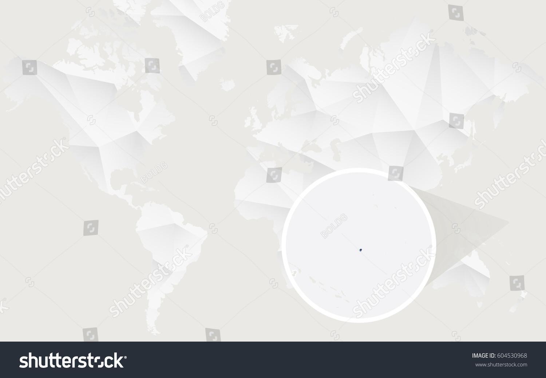 Nauru Map Flag Contour On White Stock Vector Shutterstock - Nauru map vector