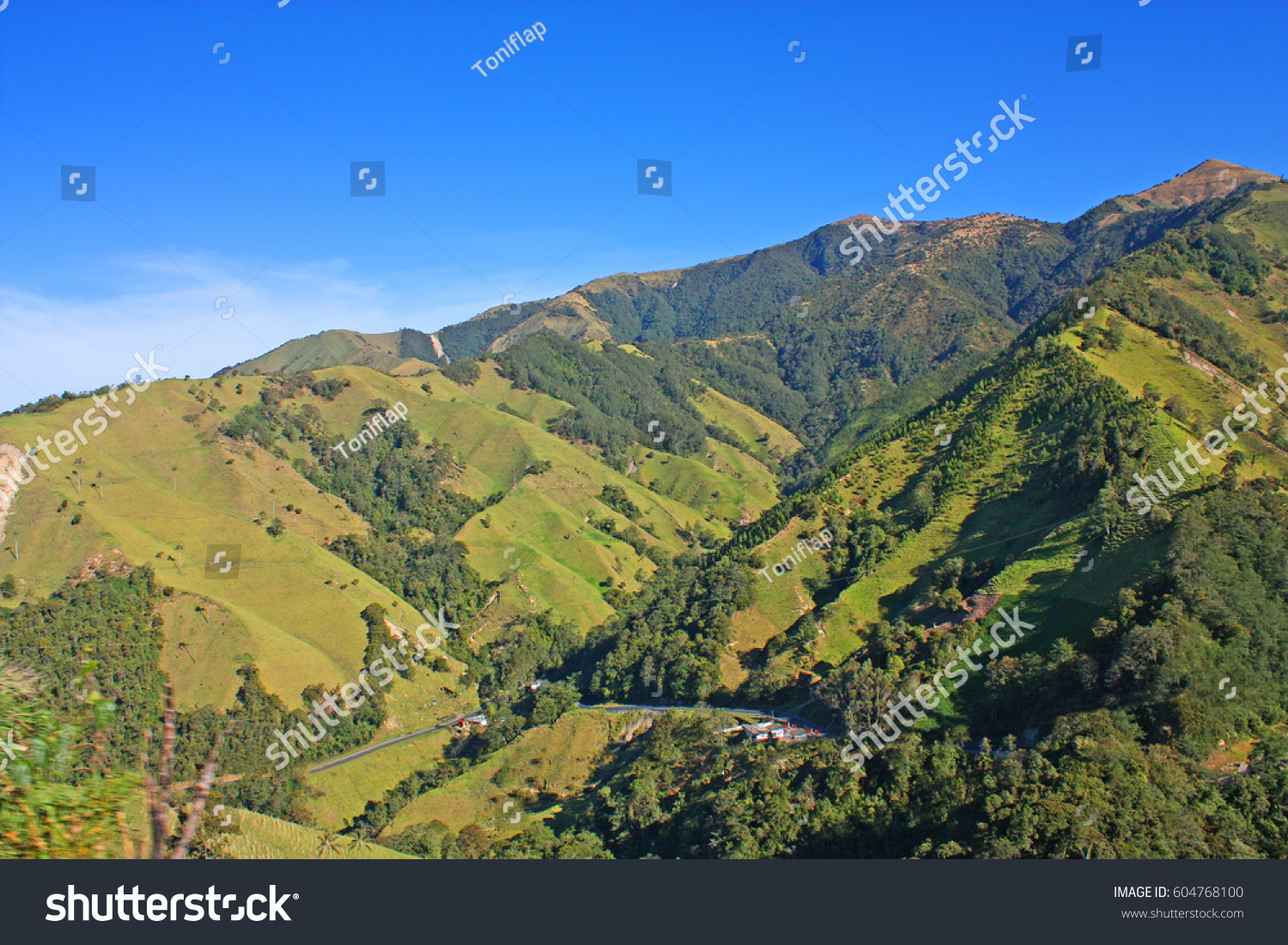 Andes Mountains National Natural Park Snow Stock Photo - Where are the andes mountains