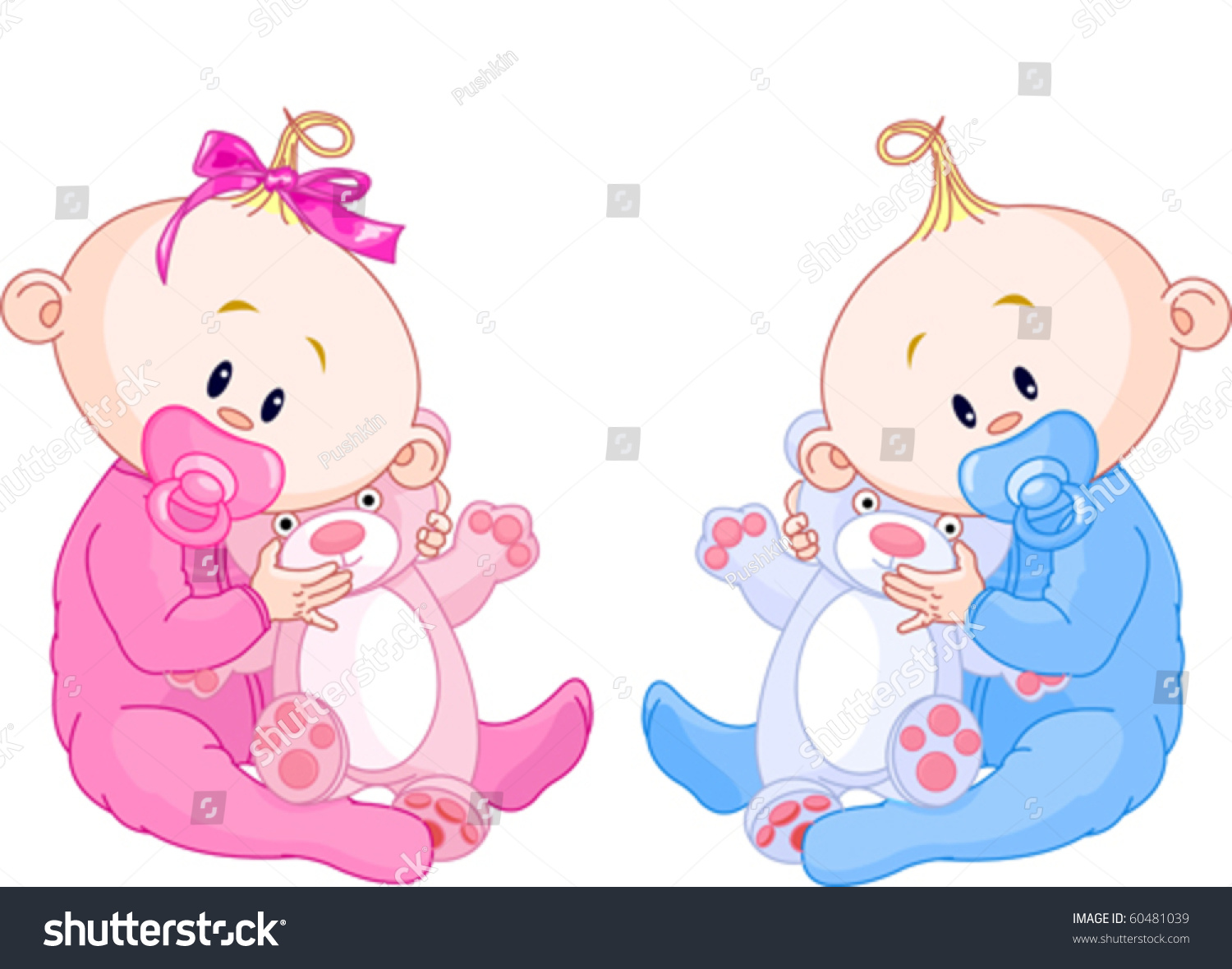 how to make a twin baby boy and girl
